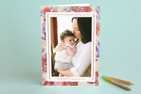 Watercolor Wash Mother's Day Greeting Cards