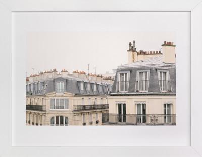 Parisian Windows Art Print