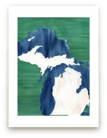 Michigan in Paint