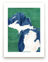 Michigan in Paint