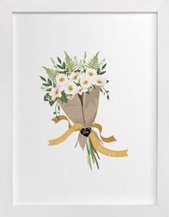 Georgia Cherokee Rose Bouquet Art Print