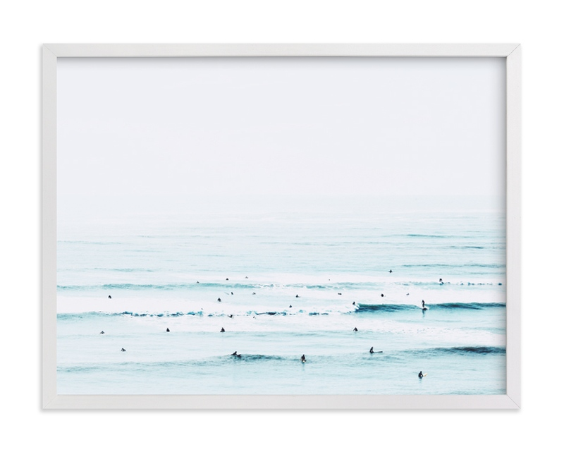 """The Sunday Blues"" - Limited Edition Art Print by Summer Strauch in beautiful frame options and a variety of sizes."