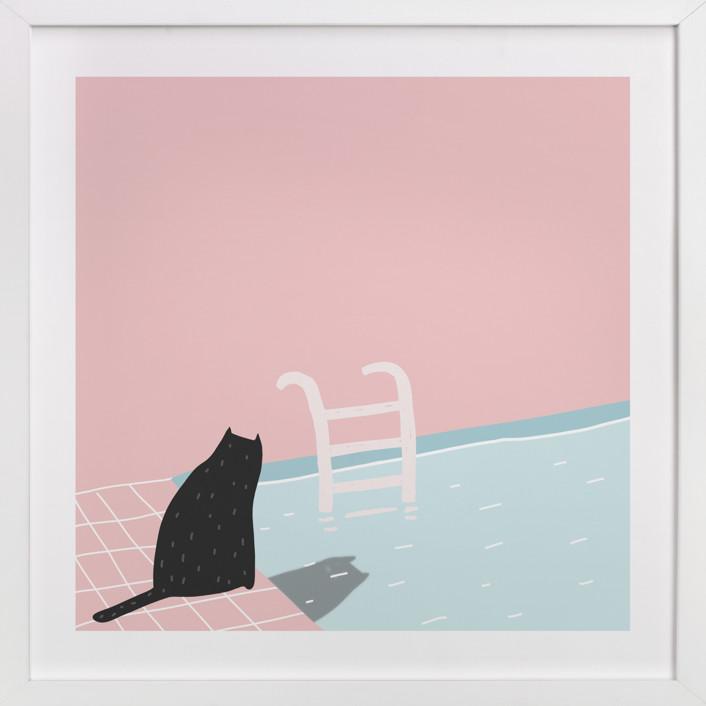 pool series - two Art Print