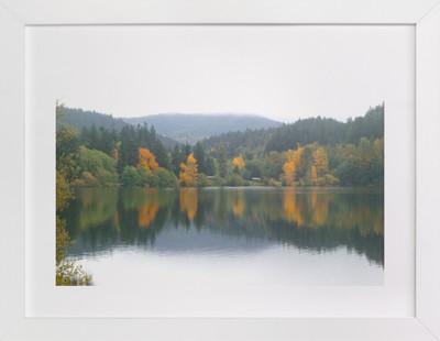 Lake Padden Art Print