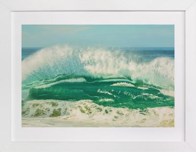 The Wave Art Print