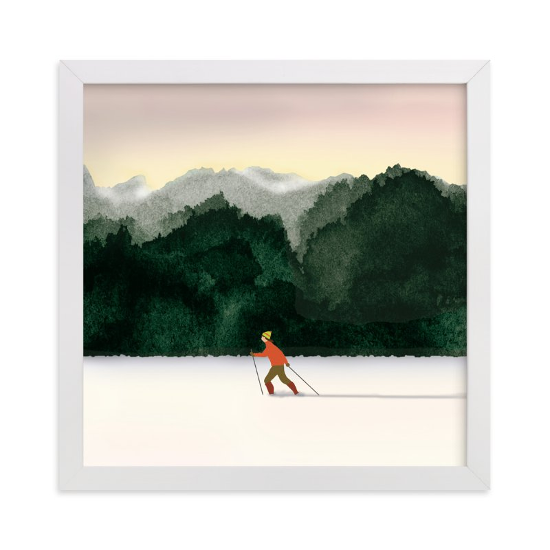 """""""Season's Best"""" - Limited Edition Art Print by Shannon in beautiful frame options and a variety of sizes."""