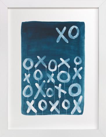 XO Lunar Art Print