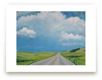 Montana Back Road by Catherine Freshley