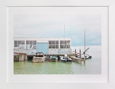 Rusty Dock Art Print