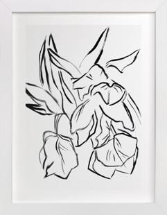 Parrot Tulips Art Print