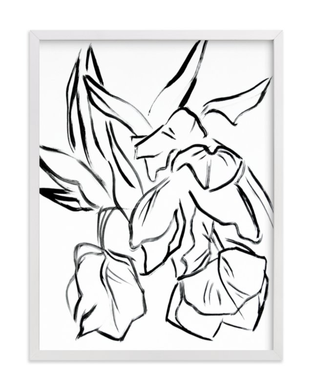 """""""Parrot Tulips"""" - Limited Edition Art Print by Lynne Millar in beautiful frame options and a variety of sizes."""
