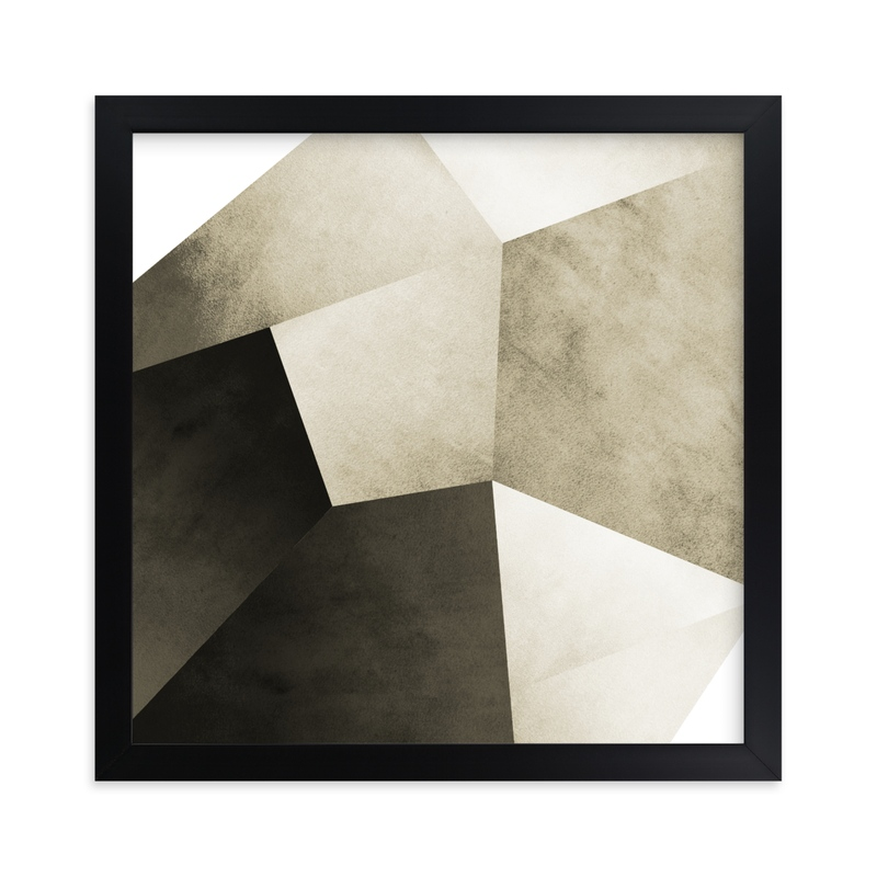 """""""Lemurian Facets Three"""" - Limited Edition Art Print by Hannah Lipking in beautiful frame options and a variety of sizes."""