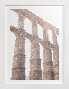 Aqueduct in the late morning Art Print