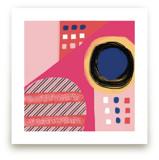 Fun Patterns on Pink by Melanie Biehle