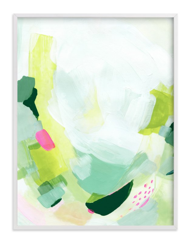 """""""Playful"""" - Limited Edition Art Print by Melanie Severin in beautiful frame options and a variety of sizes."""