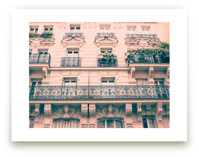 Iron Parisian Balconies