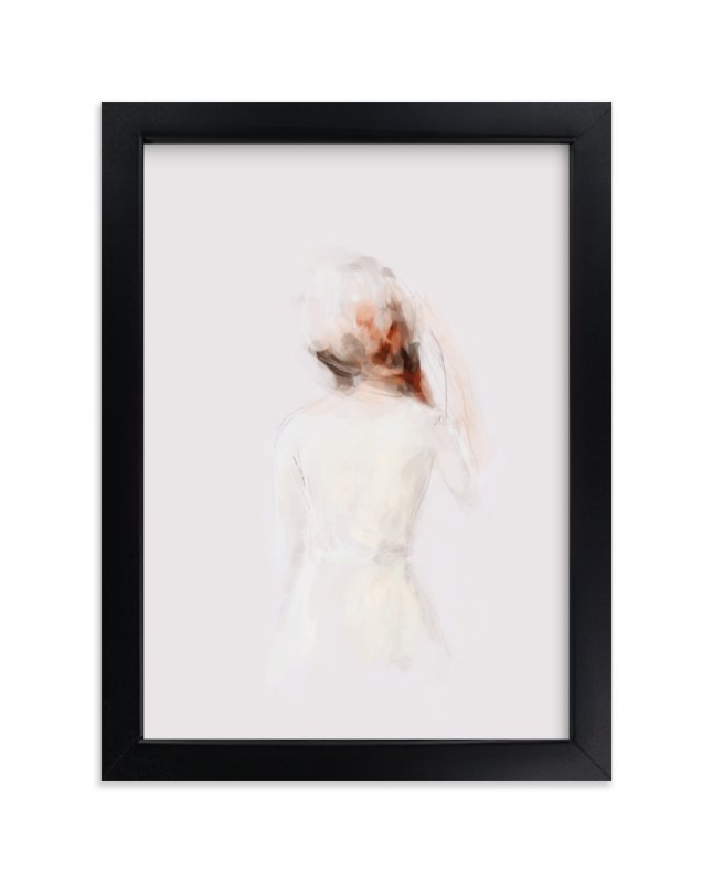 """""""The Figure"""" - Limited Edition Art Print by Lori Wemple in beautiful frame options and a variety of sizes."""