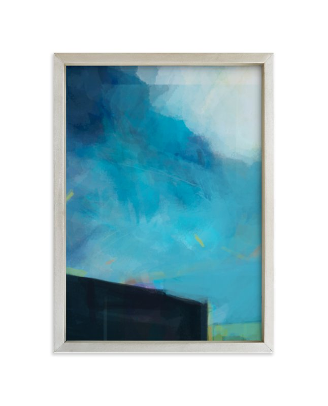 """""""Deep Dive"""" - Limited Edition Art Print by Alison Jerry Designs in beautiful frame options and a variety of sizes."""