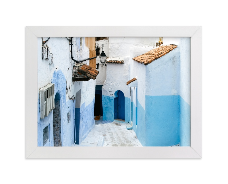 """""""The Neighborhood"""" - Limited Edition Art Print by Annie Montgomery in beautiful frame options and a variety of sizes."""