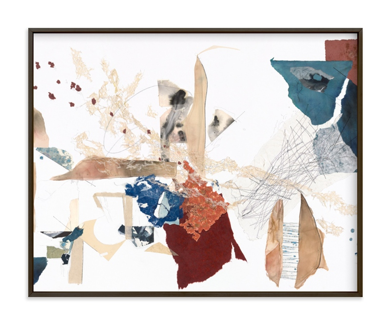 """""""Emily's Mark"""" - Limited Edition Art Print by The Fourth Artist in beautiful frame options and a variety of sizes."""
