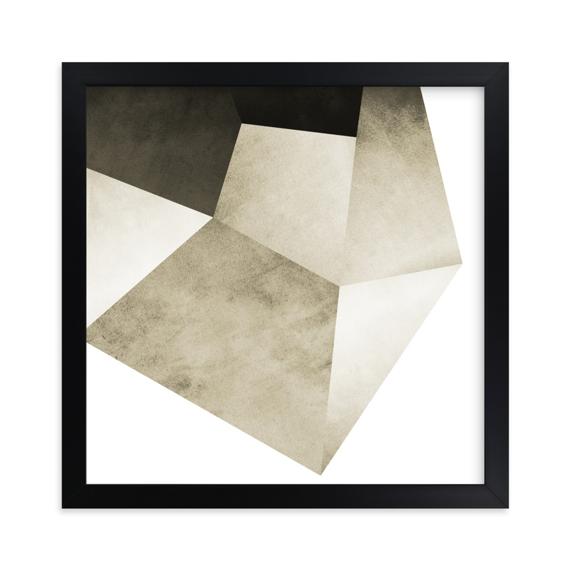"""Lemurian Facets Two"" - Limited Edition Art Print by Hannah Lipking in beautiful frame options and a variety of sizes."