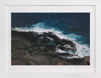 Tidal Pools & Crashing Waves Art Print