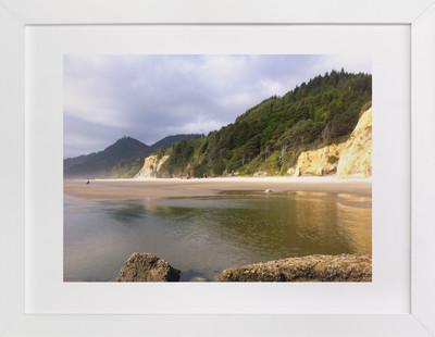 Beach Walk Art Print