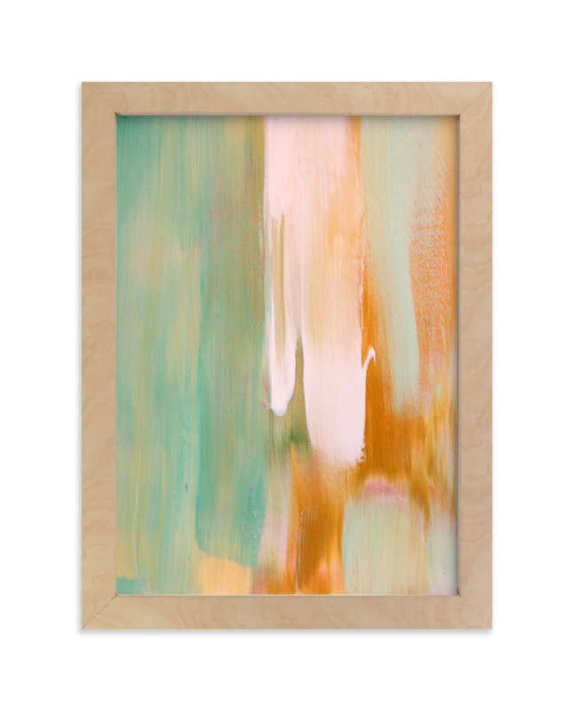 """""""Rusty Patina"""" - Limited Edition Art Print by Artsy Canvas Girl Designs in beautiful frame options and a variety of sizes."""