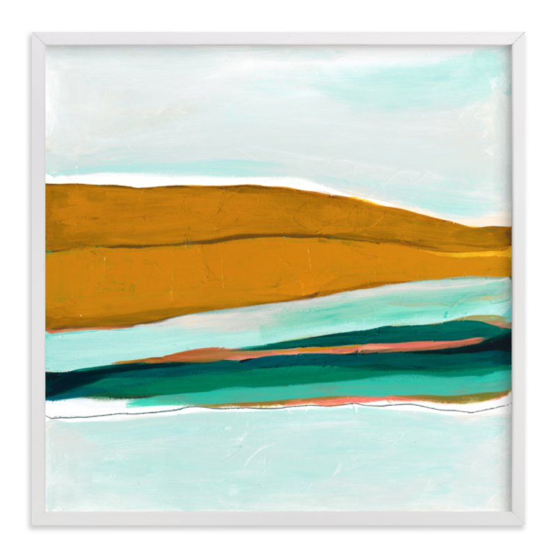 """""""Arctic Ice"""" - Limited Edition Art Print by Caryn Owen in beautiful frame options and a variety of sizes."""