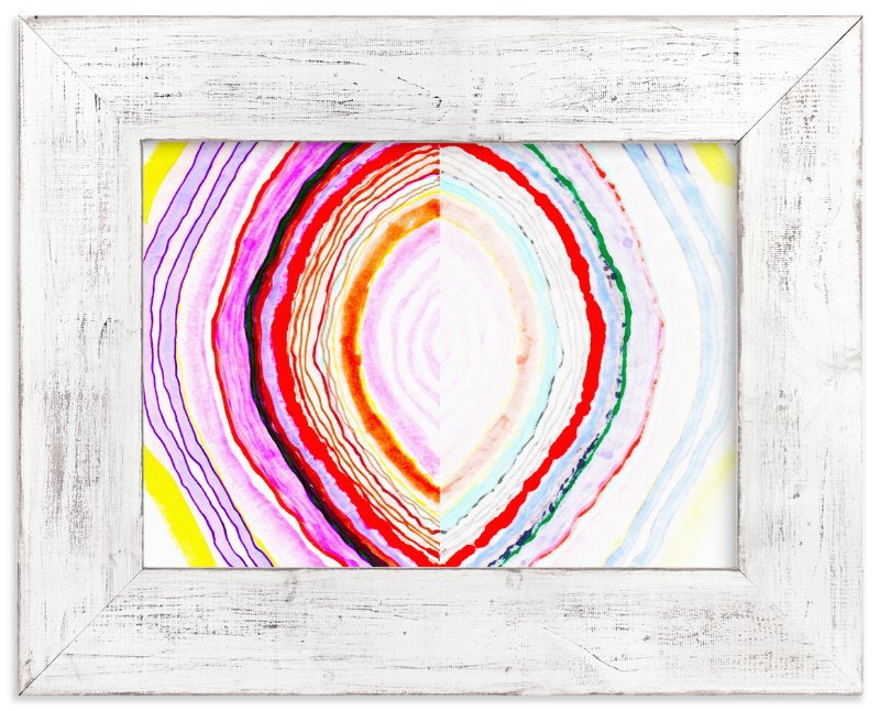 """Great with Agate No 1"" - Limited Edition Art Print by HAPI ART in beautiful frame options and a variety of sizes."