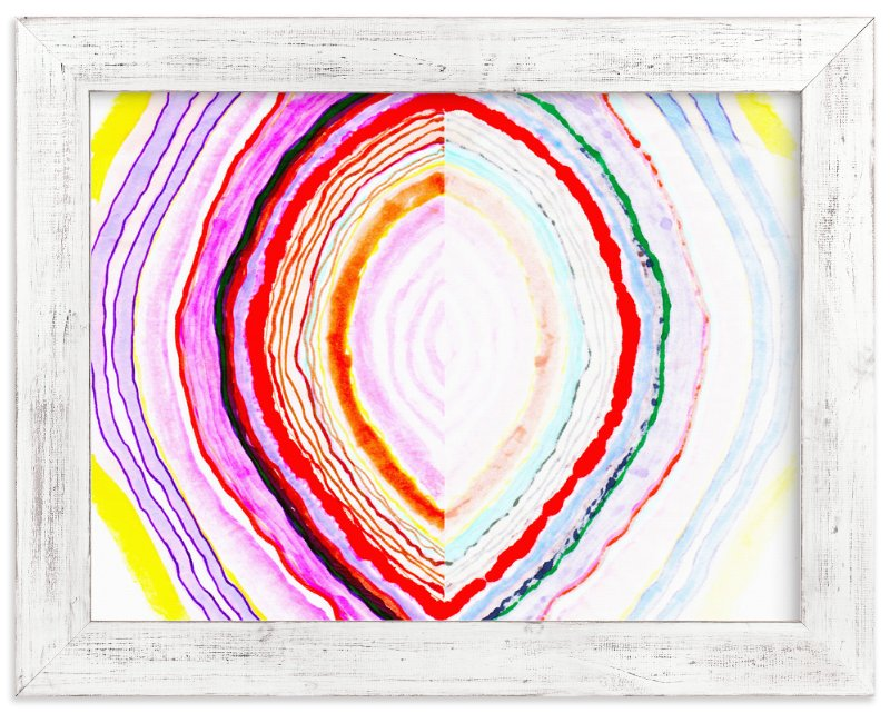 """Great with Agate No 1"" - Limited Edition Art Print by Kristi Kohut - HAPI ART AND PATTERN in beautiful frame options and a variety of sizes."