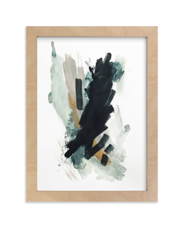 """Mark No. 5"" - Limited Edition Art Print by Kara Schlabaugh in beautiful frame options and a variety of sizes."