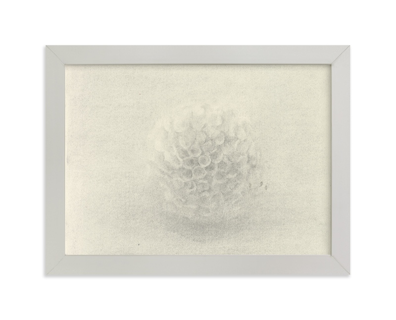 """""""Sea Urchin"""" - Limited Edition Art Print by Elisabeth Larson in beautiful frame options and a variety of sizes."""
