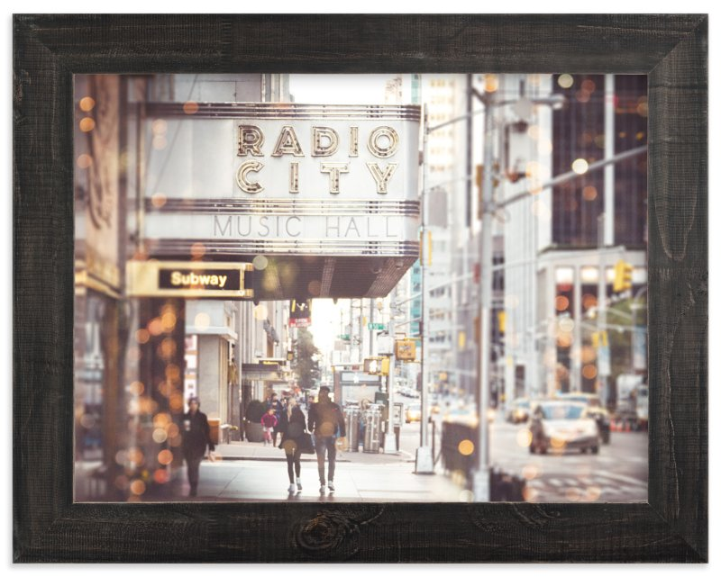 """""""Radio City Dream"""" - Limited Edition Art Print by Pockets of Film in beautiful frame options and a variety of sizes."""
