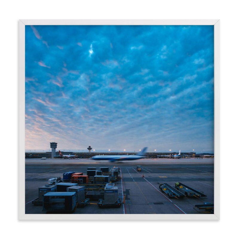 """""""Departure"""" - Limited Edition Art Print by Andrew McClintock in beautiful frame options and a variety of sizes."""