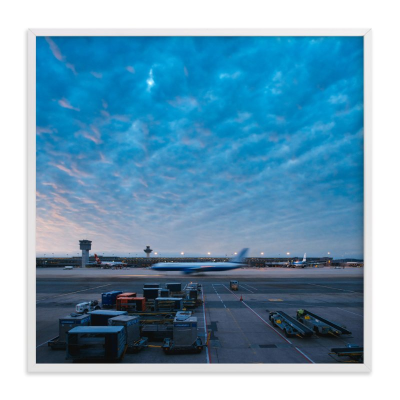 """Departure"" - Limited Edition Art Print by Andrew McClintock in beautiful frame options and a variety of sizes."