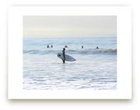 Early morning surfer, Venice Beach