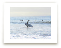 Early morning surfer, Venice Beach
