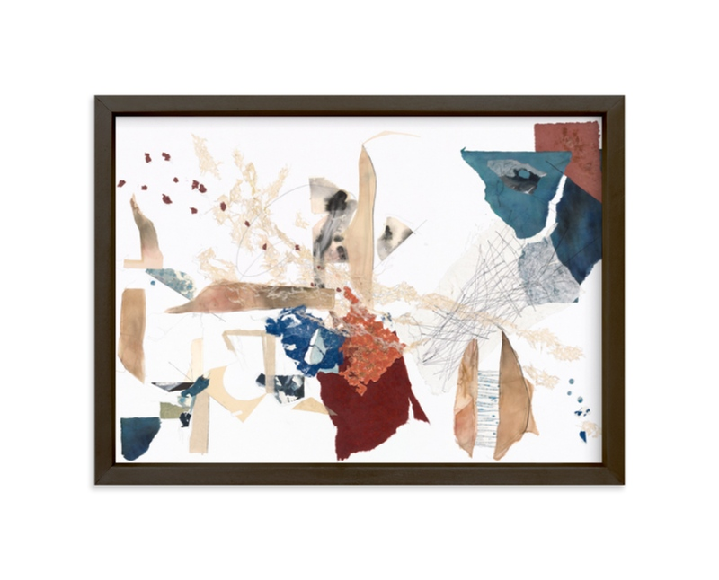 """Emily's Mark"" - Limited Edition Art Print by The Fourth Artist in beautiful frame options and a variety of sizes."