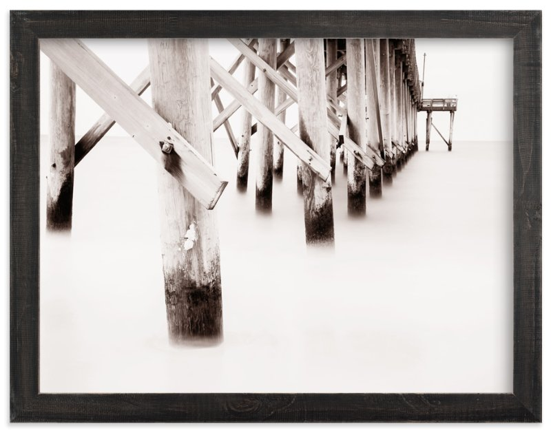 """""""The Full Length of Waves"""" - Limited Edition Art Print by Matthew Koehnemann in beautiful frame options and a variety of sizes."""