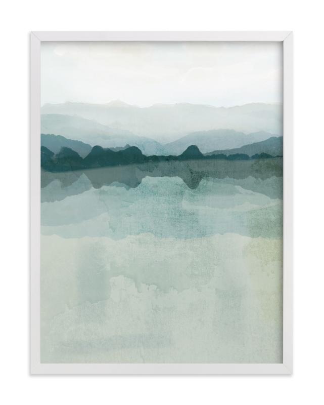 Cool Reflections Art Print