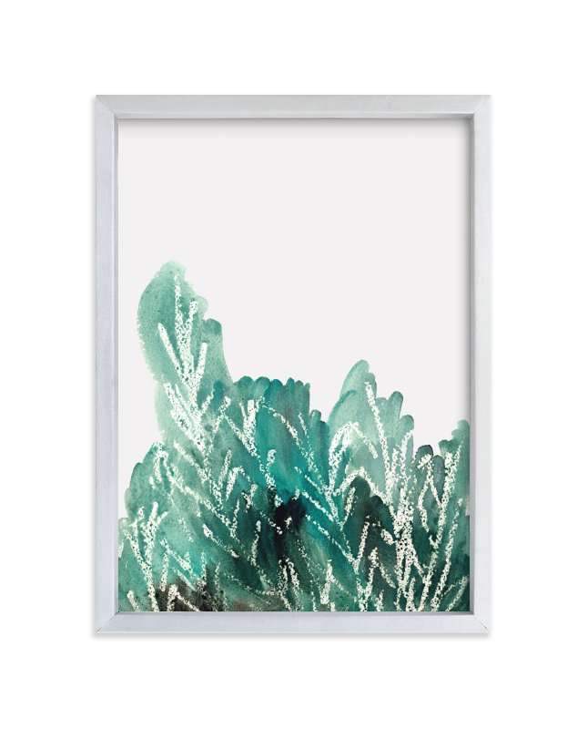 """Shrubbery"" - Limited Edition Art Print by Kanika Mathur in beautiful frame options and a variety of sizes."