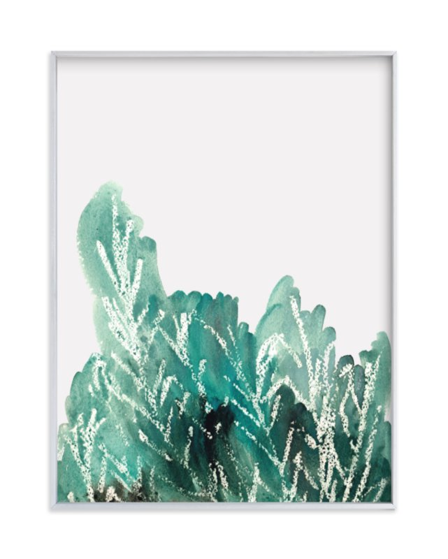 """""""Shrubbery"""" - Limited Edition Art Print by Kanika Mathur in beautiful frame options and a variety of sizes."""