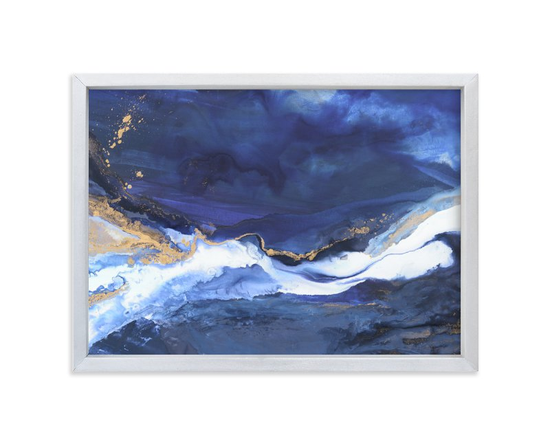 """""""Odyssey"""" - Limited Edition Art Print by Julia Contacessi in beautiful frame options and a variety of sizes."""