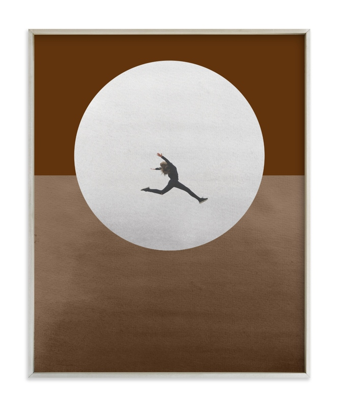Leap Over A Wall Art Print