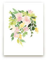 Flora in Peach I