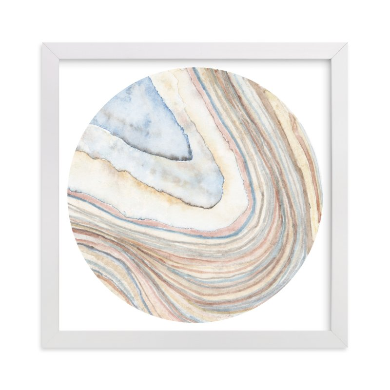 """""""Mineral 03"""" - Limited Edition Art Print by Lily Hanna in beautiful frame options and a variety of sizes."""