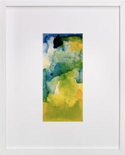 of land and sea / aquatic series no.2 Art Print