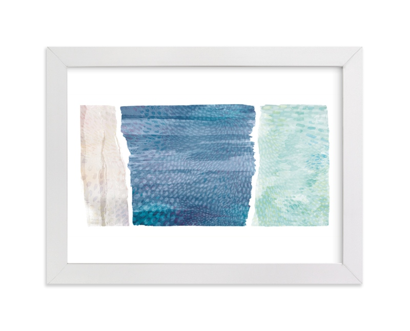 """From Sea to Shining Sea"" - Limited Edition Art Print by Hooray Creative in beautiful frame options and a variety of sizes."