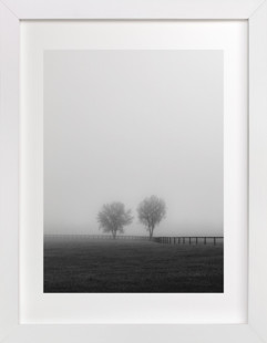 Couple in the Fog Art Print
